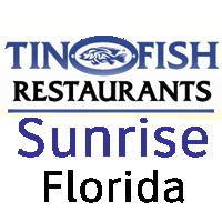 Tin Fish Sunrise Florida
