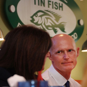 Gov. Rick Scott - Tin Fish Port St. Lucie