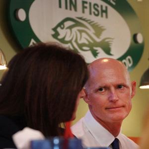 Gov. Rick Scott - Tin Fish Port St. Lucie